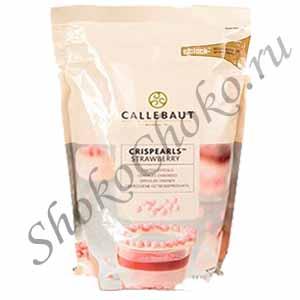 Розовые шоколадные жемчужины Callebaut 800 г