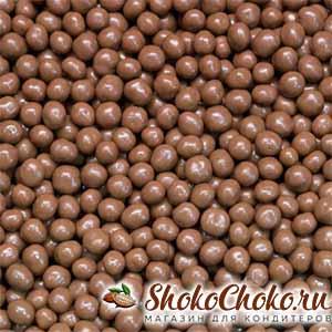 Шоколадные карамельные жемчужины с солью Callebaut 100 г