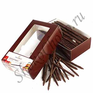 Шоколадные карандаши темные Рубенс 100 г