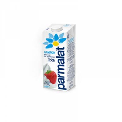 Сливки 35% 1л Parmalat