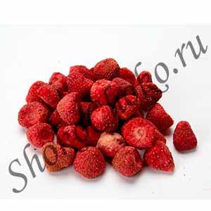 Сублимированные ягоды клубники, 50 гр