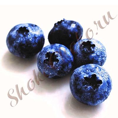 Свежие ягоды голубики, 125 грамм