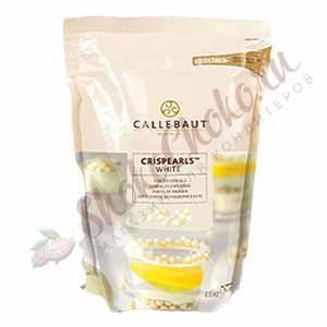 Жемчужины из белого шоколада Callebaut 800 г