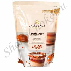 Жемчужины из молочного шоколада Milk Callebaut 800 г