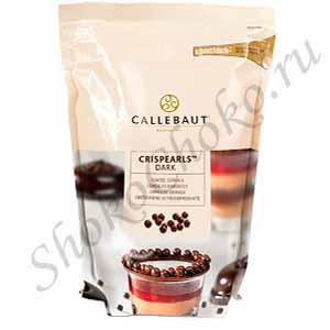 Жемчужины из темного шоколада Dark Callebaut 400 г
